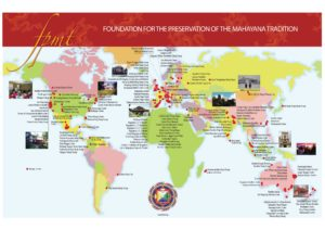 FPMT Centres Map