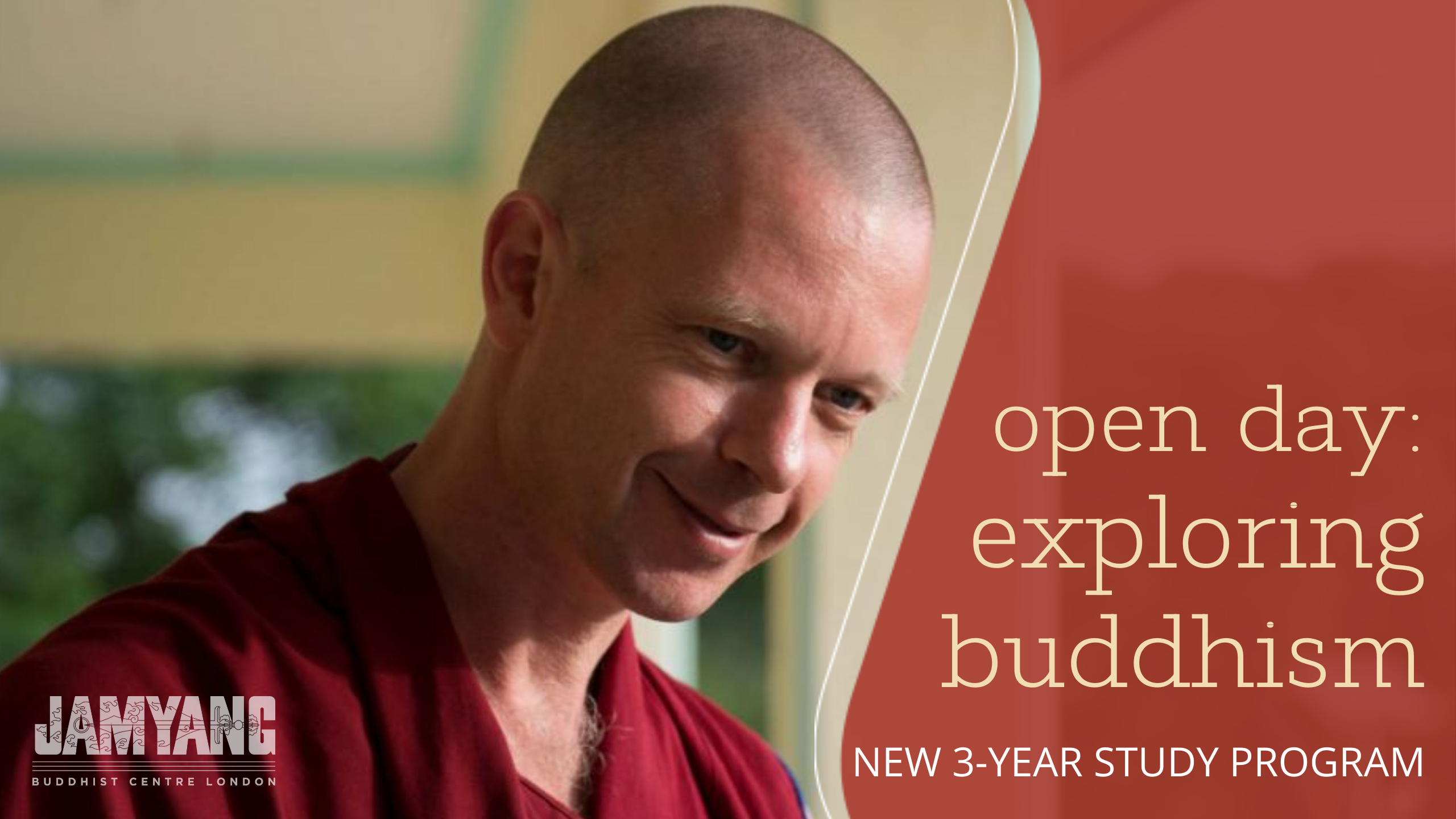 FPMT New Study Programme 'Exploring Buddhism'. Open Day with Geshe Namdak