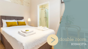 London Double Room Lotus GuestHouse at Jamyang London Buddhist Centre