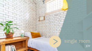 Single Room London - Lotus Guesthouse at Jamyang Buddhist Centre London
