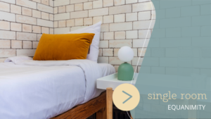 London Single Room - Lotus Guesthouse - Jamyang Buddhist Centre London