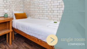 London Single Room at Lotus Guesthouse Jamyang Buddhist Centre Londo