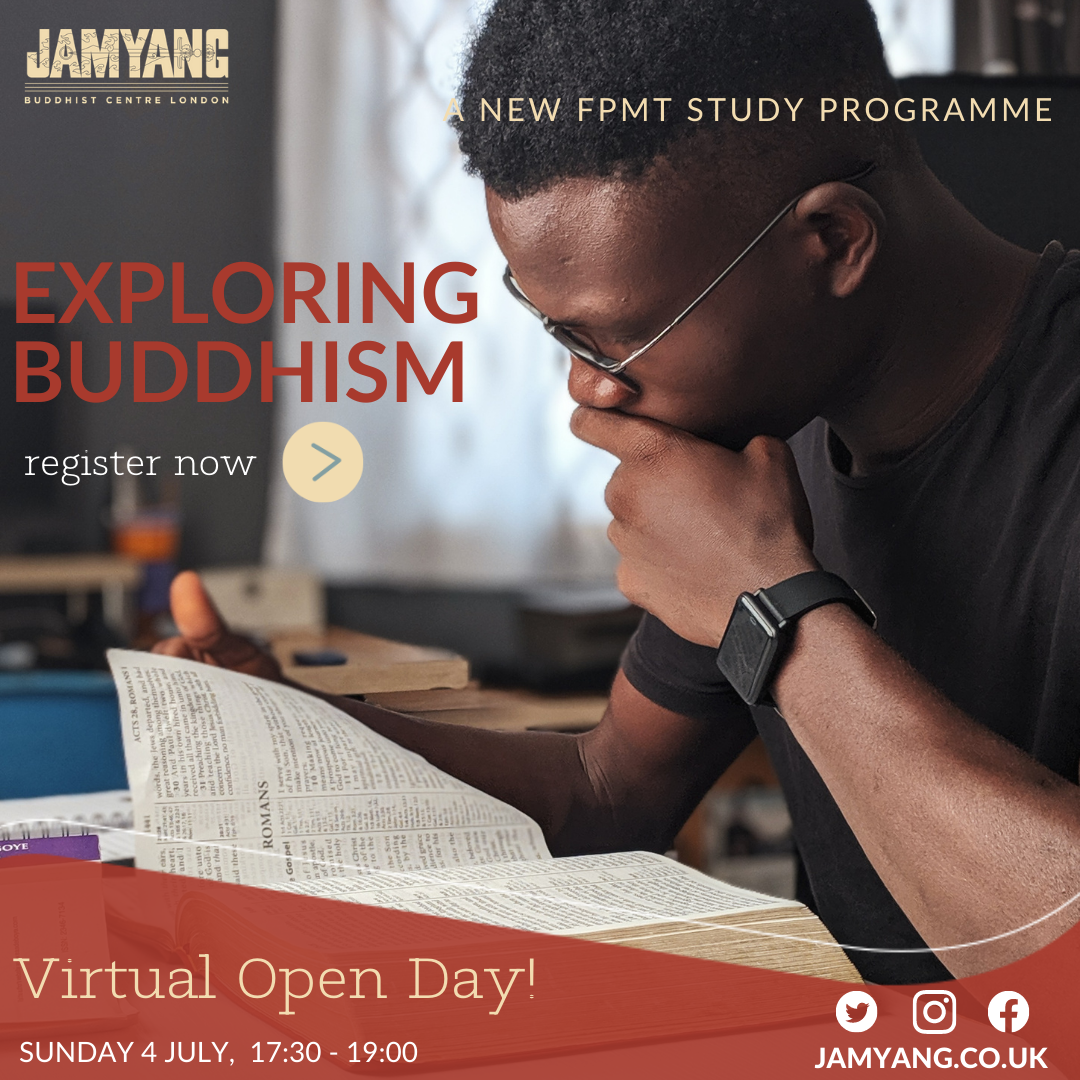 Study Buddhism at Jamyang London Buddhist Centre