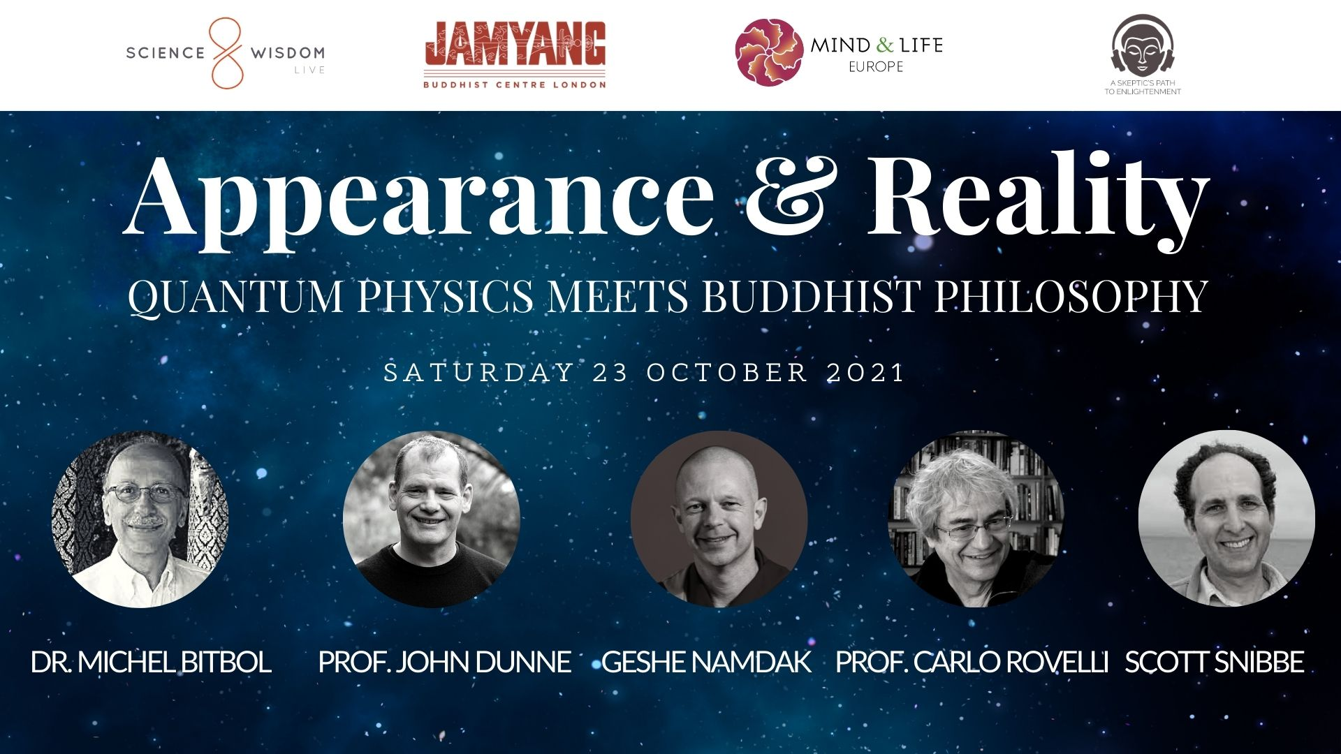 eventbrite Science and Wisdom Live